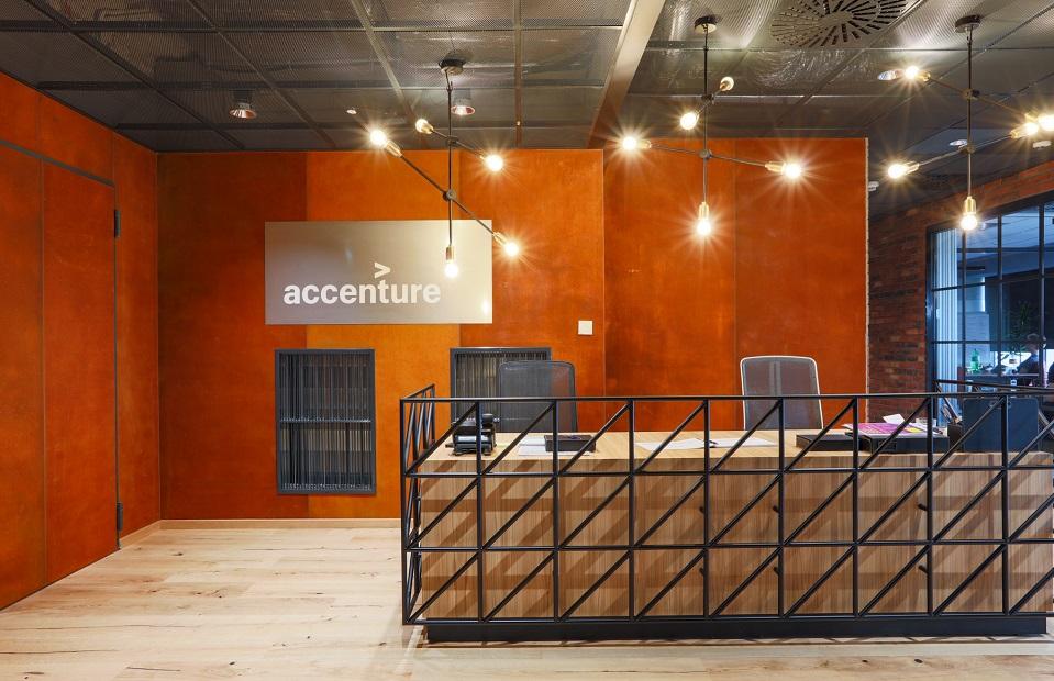 nowe biuro accenture  advanced technology center w