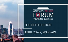 Warsaw Beijing Forum: Youth for Business 2018