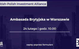 8. edycja British-Polish Investment Alliance